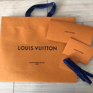 LOUIS VUITTON - 大きなルイヴィトン 紙袋 ショップ袋 5点