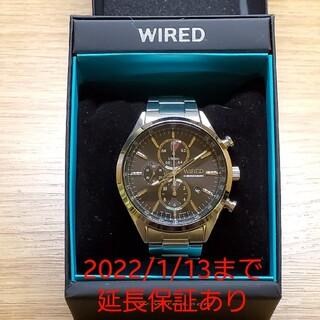 セイコー(SEIKO)のSEIKO WIRED クロノグラフ腕時計(AGAV109)(腕時計(アナログ))