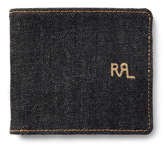 RRL - RRL セルビッジ デニム ビルフォード 財布