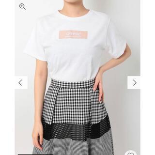 マーキュリーデュオ(MERCURYDUO)のマーキュリーデュオ ボックスロゴTシャツ(Tシャツ/カットソー(半袖/袖なし))