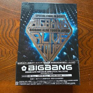ビッグバン(BIGBANG)のBIGBANG ALIVE TOUR 2012 DVD 初回生産限定盤(ミュージック)