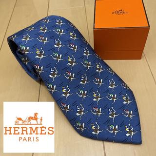 Hermes - HERMES アニマル ネクタイ