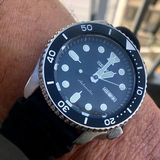 セイコー(SEIKO)のニューSEIKO5スポーツ自動巻divers極美完動品(腕時計(アナログ))
