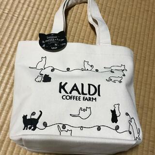 カルディ(KALDI)のKALDI ネコの日バックのみ(トートバッグ)