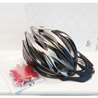オージーケー(OGK)の特価【試着のみ美品】OGK REGAS2 リガス2 ヘルメット ファングガンメタ(ウエア)