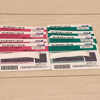 エーエヌエー(ゼンニッポンクウユ)(ANA(全日本空輸))のANA 株主優待券 8枚(その他)