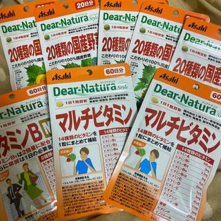 アサヒ - ディアナチュラ 8袋セット ビタミン 国産野菜