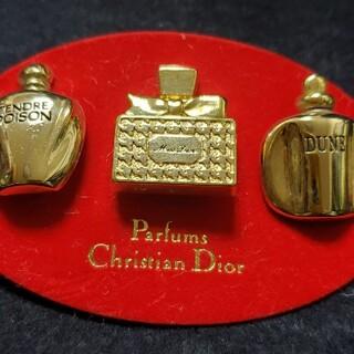 クリスチャンディオール(Christian Dior)のディオールピンバッチ(バッジ/ピンバッジ)