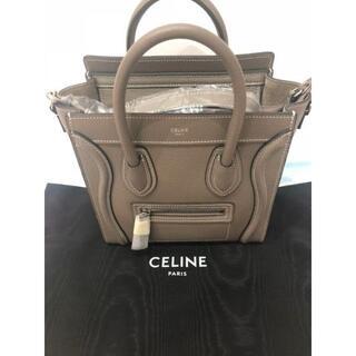 celine - セリーヌCELINEラゲージナノショッパー スリ