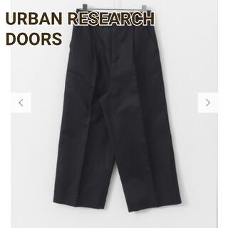 DOORS / URBAN RESEARCH - アーバンリサーチ ドアーズ  コットンリネンクロップド パンツ M ネイビー