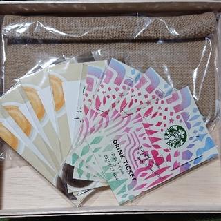 スターバックスコーヒー(Starbucks Coffee)のラムネ様専用です。スタバドリンクチケット (フード/ドリンク券)