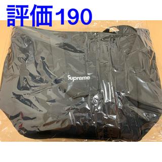 Supreme - supreme Canvas tote シュプリーム トートバック 黒 20fw