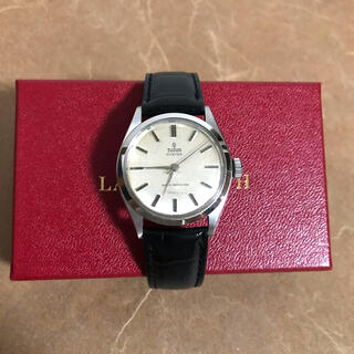 Tudor - 稼働品 TUDOR オイスター 小薔薇 腕時計 50s ビンテージ xpv