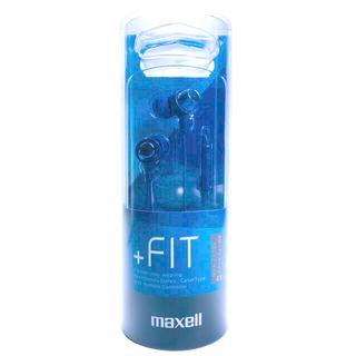 マクセル(maxell)の日立 マクセル  カナル 型 ヘッドホン マイク 付  MXH-C110SDB(ヘッドフォン/イヤフォン)
