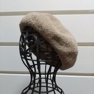 グローバルワーク(GLOBAL WORK)のベレー帽 ベージュ(ハンチング/ベレー帽)