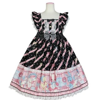 Angelic Pretty - Angelic Pretty MELODY TOYS ジャンパースカート クロ