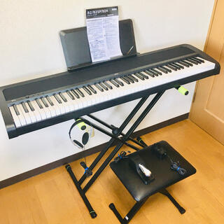 KORG - 【美品】KORG 電子ピアノ B2N 【スタンド・イスセット】