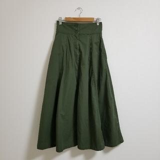 アズールバイマウジー(AZUL by moussy)のAZUL アズール ロングスカート マキシ ギャザースカート(ロングスカート)