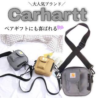 カーハート(carhartt)の【SALE】 Carhartt カーハート  グレー ショルダーバッグ ポケット(ショルダーバッグ)