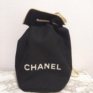 CHANEL - シャネル VIP限定 ノベルティ 巾着 黒 ブラック リュック