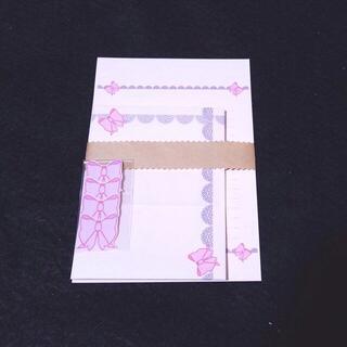 リボン4~レターセット~(カード/レター/ラッピング)
