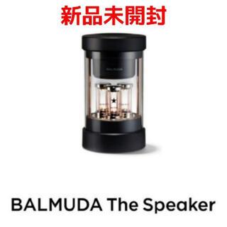 バルミューダ(BALMUDA)のBALMUDA ザ・スピーカー M01A-BK 【新品未開封】(スピーカー)