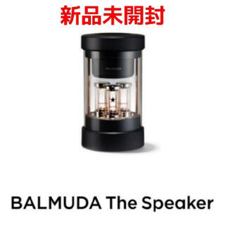 BALMUDA - BALMUDA ザ・スピーカー M01A-BK 【新品未開封】