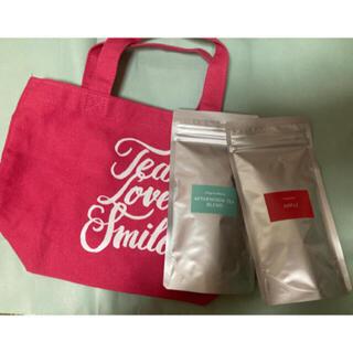 アフタヌーンティー(AfternoonTea)のAfternoon Tea/トートバッグ ピンク&紅茶2点 セット(茶)