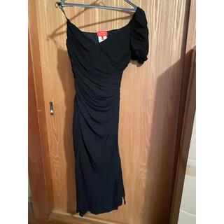 ヴィヴィアンウエストウッド(Vivienne Westwood)のヴィヴィアン・ウエストウッド レッドレーベル ワンピース ドレス(ミディアムドレス)