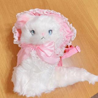 アンジェリックプリティー(Angelic Pretty)のAngelic Pretty きまぐれcat ぬいぐるみポーチ 新品(その他)