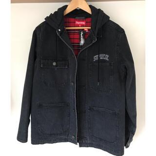 シュプリーム(Supreme)のSupreme Hooded Chore Coat 17FW(カバーオール)