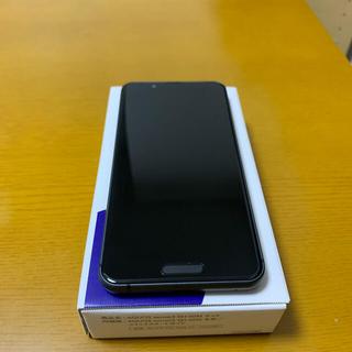 アクオス(AQUOS)のAQUOS sense3 SH-02M ブラック 64 GB docomo(スマートフォン本体)