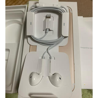 アップル(Apple)のiPhone7 付属品 純正品(ストラップ/イヤホンジャック)
