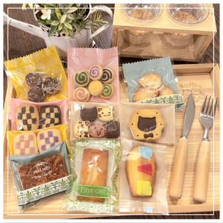 ⑥✴︎手作りマドレーヌ、フィナンシェ、クッキー10点詰め合わせセット✴︎(菓子/デザート)