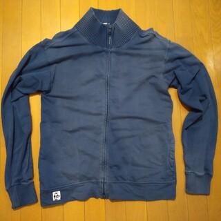 チャムス(CHUMS)のCHMUS カットソー Lサイズ 紺(Tシャツ/カットソー(七分/長袖))