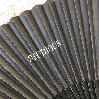 ステュディオス(STUDIOUS)の♡ステュディオス♡ STUDIOUS 非売品 扇子(その他)