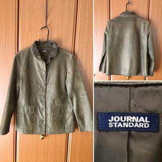ジャーナルスタンダード(JOURNAL STANDARD)の特価 JOURNALSTANDARD PigSkin レザージャケット 革ジャン(ライダースジャケット)