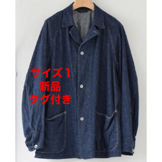 COMOLI - comoli デニムワークジャケット デニムカバーオール サイズ1 コモリ