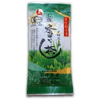 宮崎茶房(有機JAS認定、無農薬栽培)、釜炒り茶(上級) 緑茶100g(茶)