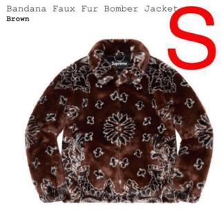 シュプリーム(Supreme)のS Supreme Bandana Faux Fur Bomber Jacket(ブルゾン)