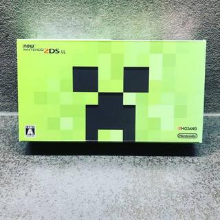 ニンテンドー2DS(ニンテンドー2DS)の【極美品】Newニンテンドー2DS LL クリーパー エディション(携帯用ゲーム機本体)