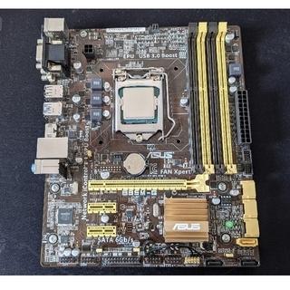 エイスース(ASUS)の【中古】自作PCパーツセット(第4世代CPU)【OS、ディスク等なし】(PCパーツ)