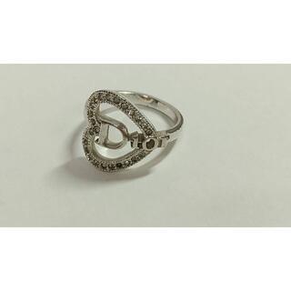 Christian Dior - Dior クリスチャンディオール ロゴ ストーンリング 指輪