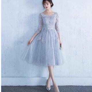 ドレス 韓国 結婚式 2次会 Lサイズ