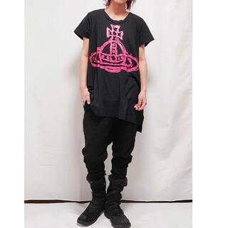 ヴィヴィアンウエストウッド(Vivienne Westwood)のヴィヴィアンウエストウッド Tシャツワンピ M(Tシャツ(半袖/袖なし))