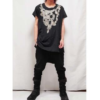 ヴィヴィアンウエストウッド(Vivienne Westwood)のヴィヴィアンウエストウッド ネックレスデザインTシャツワンピ M(Tシャツ(半袖/袖なし))