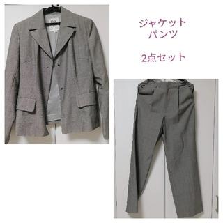 ミッシェルクラン(MICHEL KLEIN)のMICHEL KLEINミシェルクランのグレーのスーツ(スーツ)