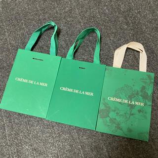 ドゥラメール(DE LA MER)のドゥ・ラ・メール ショップ袋×3枚(ショップ袋)