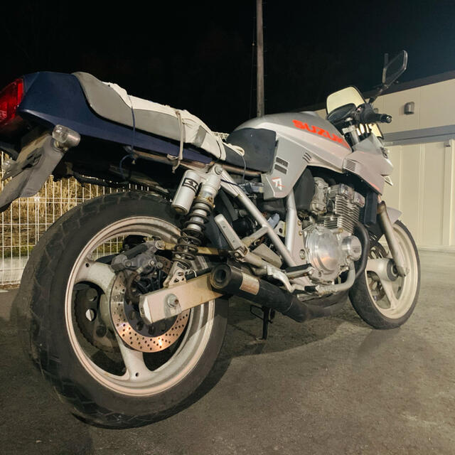 スズキ(スズキ)のGSX250S カタナ 実働 自動車/バイクのバイク(車体)の商品写真