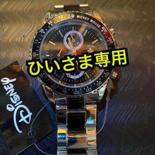 ディズニー(Disney)のDisney ‼︎生誕80周年記念回転ベゼル☆腕時計スワロフスキー(腕時計(アナログ))